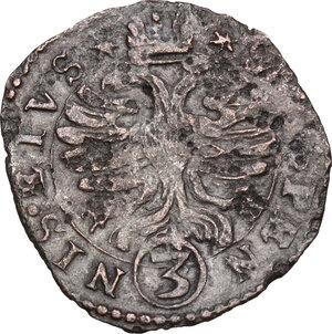 reverse: Bozzolo. Scipione Gonzaga (1613-1670). Da 3 soldi