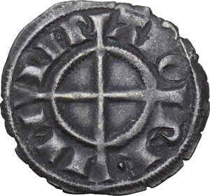 obverse: Brindisi. Federico II di Svevia (1194-1250).Denaro, 1239