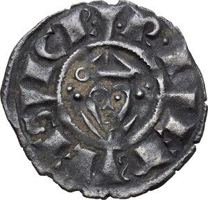 reverse: Brindisi. Federico II di Svevia (1194-1250).Denaro, 1239