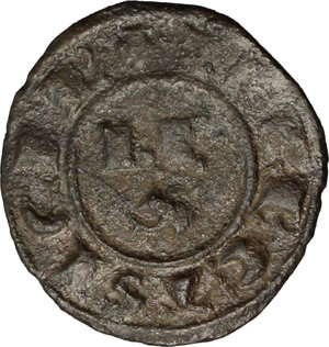 reverse: Brindisi. Corrado I di Svevia (1250-1254). Mezzo denaro