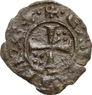 obverse: Brindisi o Messina. Corrado II di Svevia (Corradino) (1254-1258). Mezzo Denaro