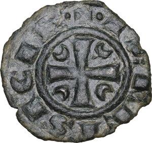 obverse: Brindisi. Corrado II di Svevia (Corradino) (1254-1258). Denaro