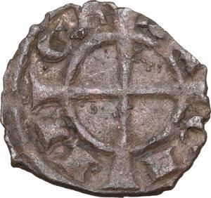 obverse: Brindisi. Manfredi di Svevia (1258-1266). Denaro
