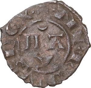 reverse: Brindisi. Manfredi di Svevia (1258-1266). Denaro