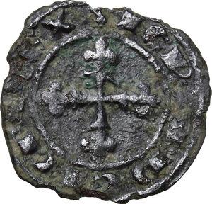 obverse: Brindisi. Carlo d Angiò (1266-1278).Denaro