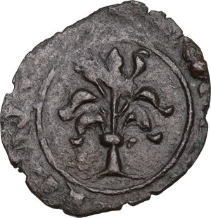 reverse: Brindisi. Carlo I d Angiò (1266-1278). Denaro c. 1277