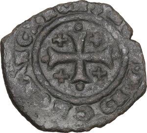 obverse: Brindisi. Carlo I d Angiò (1266 -1282). Denaro