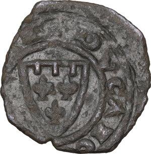 reverse: Brindisi. Carlo I d Angiò (1266 -1282). Denaro
