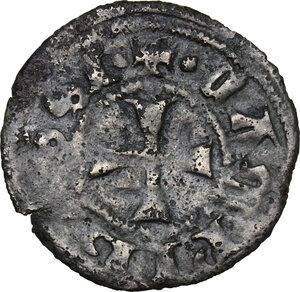 obverse: Campobasso. Nicola II di Monforte Conte (1461-1463). Tornese