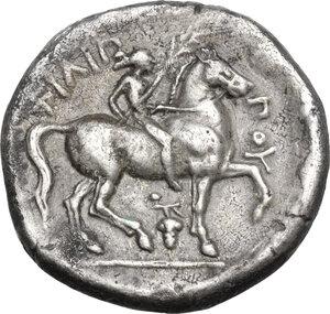 reverse: Kings of Macedon. Philip II (359-336 BC). AR Tetradrachm. Amphipolis mint. Lifetime issue, struck circa 348-342 BC
