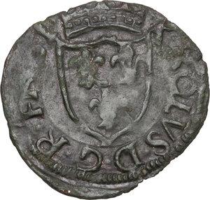 obverse: Chieti. Carlo VIII re di Francia (1495).Cavallo