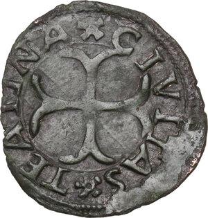 reverse: Chieti. Carlo VIII re di Francia (1495).Cavallo