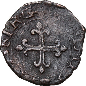 reverse: Desana. Agostino Tizzone (1559-1582). Quattrino 1581