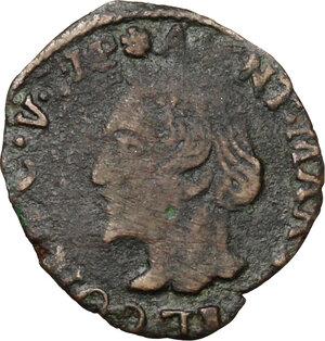 obverse: Desana. Antonio Maria Tizzone (1598-1641). Quattrino