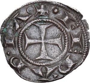obverse: Ferrara. Repubblica a nome di Federico I Imperatore (1200?-1344).Denaro