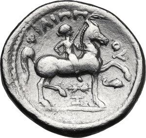 reverse: Kings of Macedon. Philip II (359-336 BC).AR Tetradrachm. Struck under Philip III, Amphipolis mint, c. 323-315 BC