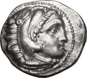 obverse: Kings of Macedon. Philip III Arrhidaios (323-317 BC).AR Drachm, Kolophon mint, c. 322-319 BC