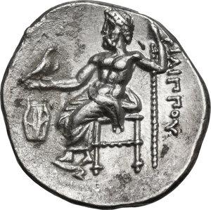 reverse: Kings of Macedon. Philip III Arrhidaios (323-317 BC).AR Drachm, Kolophon mint, c. 322-319 BC
