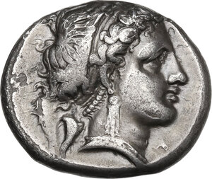 obverse: Central and Southern Campania, Neapolis. AR Didrachm, c. 320-300 BC
