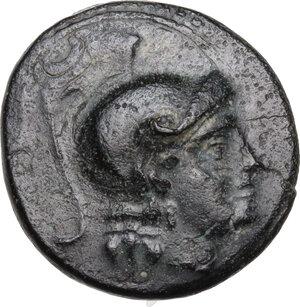 obverse: Kings of Macedon. Kassander (316-297 BC).AE 18mm. Uncertain mint in Western Anatolia