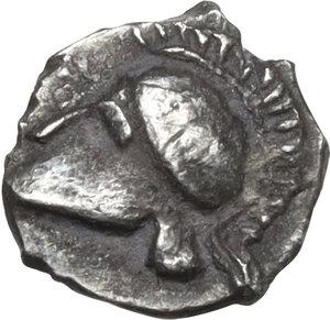obverse: Thraco-Macedonian Region, Siris.AR Hemiobol, 5th-4th century BC