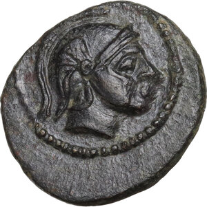 obverse: Thessaly, Phalanna. AE Chalkous, c. 370-350 BC