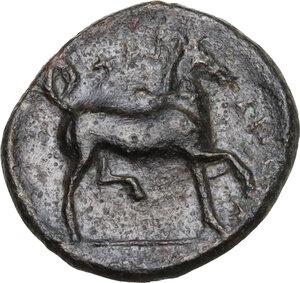 reverse: Thessaly, Phalanna. AE Chalkous, c. 370-350 BC