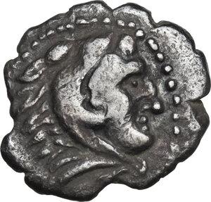 obverse: Illyria, Dyrrhachium. AR Hemidrachm, 344-300 BC