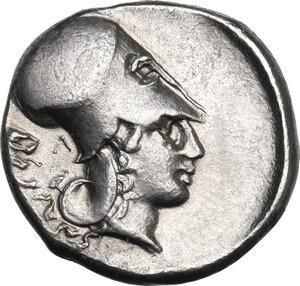 reverse: Akarnania, Leukas. AR Stater, c. 340-290/80 BC