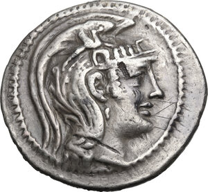 obverse: Attica, Athens. AR Tetradrachm. New Style coinage. Theodotos, Kleophanes and Demos, magistrates. Struck 106/5 BC