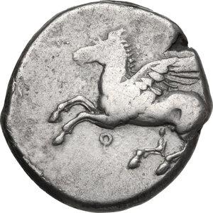 obverse: Corinthia, Corinth. AR Stater, c. 375-300 BC
