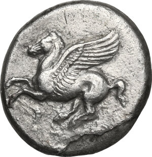 obverse: Corinthia, Corinth. AR Stater, c. 350/45-285 BC