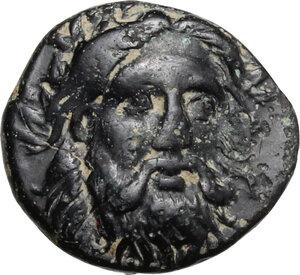 obverse: Mysia, Adramyteion. AE 12 mm. 4th century BC