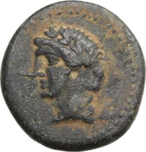 obverse: Mysia, Adramyteion. Time of Mithradates VI (c. 119-63 BC).AE 21 mm