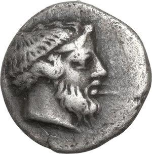 obverse: Troas, Lamponeia. AR Obol, late 5th-early 4th century BC