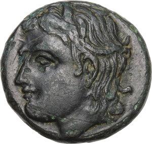 obverse: Aeolis, Tisna. AE 16mm. 4th-3rd century BC