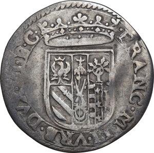 Urbino. Francesco Maria II della Rovere (1574-1624). Da due grossi