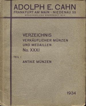 obverse: CAHN  A. E. -  Verzeichnis  XXXI. Frankfurt am Main, 1934. Antike munzen Teil I.  pp. 68,  nn. 2168,  tavv. 4. Ril. ed. buono stato, raro. Spring –