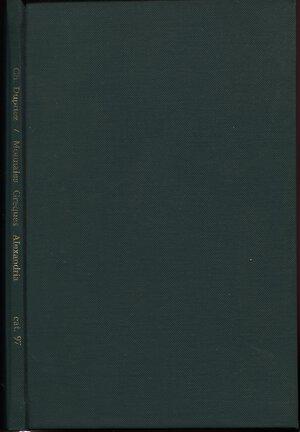 obverse: DUPRIEZ Ch. – Catalogue N 97. Bruxelles, s.d.  Monnaies imperialis grecques en potin frappes a Alexandrie d'Egypte. Pp. 53,  nn. 1027, tavv. 2. Ril. similpellerigida  con scritte sul dorso, buono stato, Spring  manca.