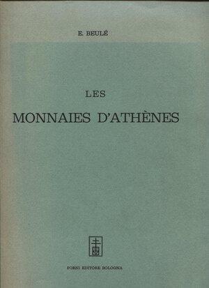 obverse: BEULE  E. -  Les monnaies d'Athenes.  Bologna, 1967.  Pp. 417,  con diverse ill. nel testo. ril. ed buono stato, importante lavoro.