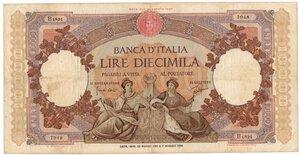 obverse: Banconote. Repubblica Italiana. 10.000 Lire Regine del Mare. D.M. 23 Marzo 1961.