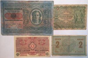 reverse: Banconote. Austria. Lotto di 10 pezzi.