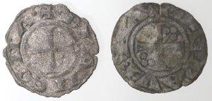 obverse: Lotto 2 monete. Ancona. Denaro. Ravenna. Denaro. Mi.