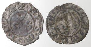 reverse: Lotto 2 monete. Ancona. Denaro. Ravenna. Denaro. Mi.