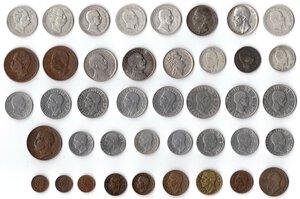 obverse: Casa Savoia. Lotto di 41 monete. Di cui 11 in Argento.