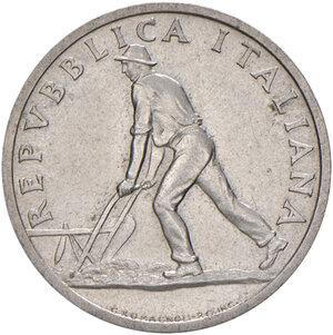 obverse: Repubblica Italiana (dal 1946). Da 2 lire 1946 IT. Pagani 2401. Rara. SPL