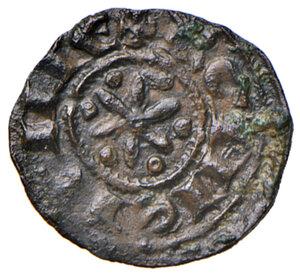 reverse: Sicilia. Federico II di Svevia (1197-1250). Denaro (Palermo o Messina) MI gr. 0,67. Spahr 90. MEC14, 581. D Andrea Hohenstaufen 91. Raro. BB