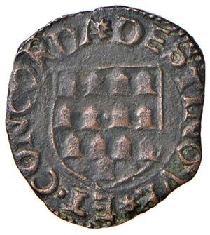 reverse: Camerino. Giovanni Maria Varano (1503-1527). II periodo: duca, 1511-1527. Quattrino MI gr. 1,14. CNI 55. Ravegnani Morosini 3. Raro. Buon BB