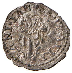reverse: Fano. Pio V (1566-1572). Quattrino MI gr. 0,71. Muntoni 55. Ciavaglia 16. MIR 1111/1. Piena argentatura d epoca, q.FDC
