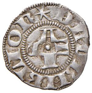 obverse: Fermo. Ludovico Migliorati (1425-1428). Bolognino AG gr. 1,08. CNI 1. q.SPL